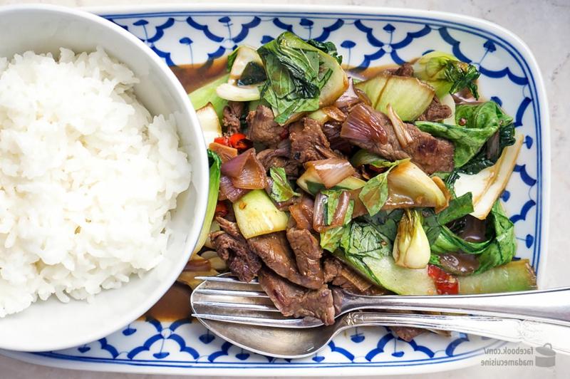 Pak Choi Rezepte Senfkohl mit Rindfleisch