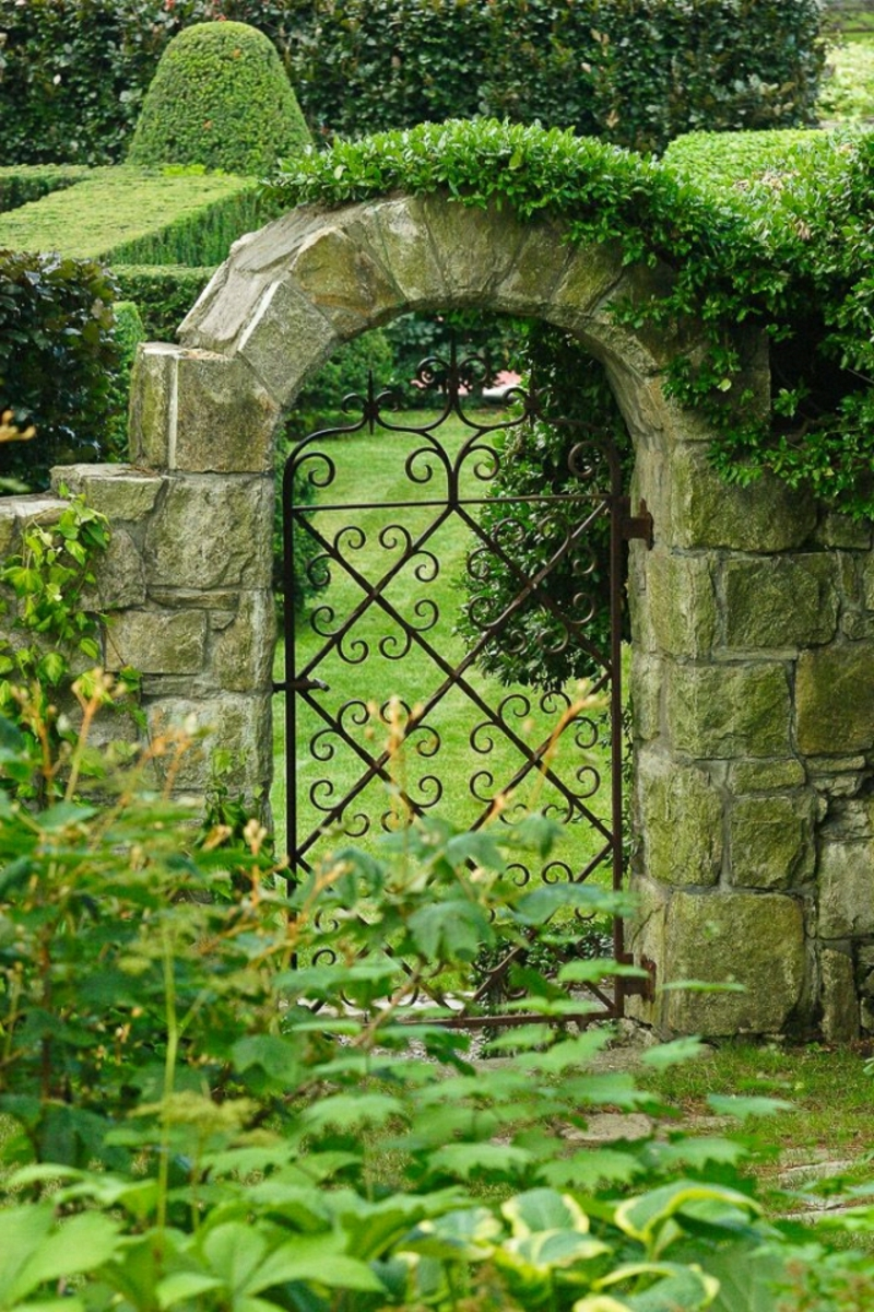 Gartentür moderne Designs