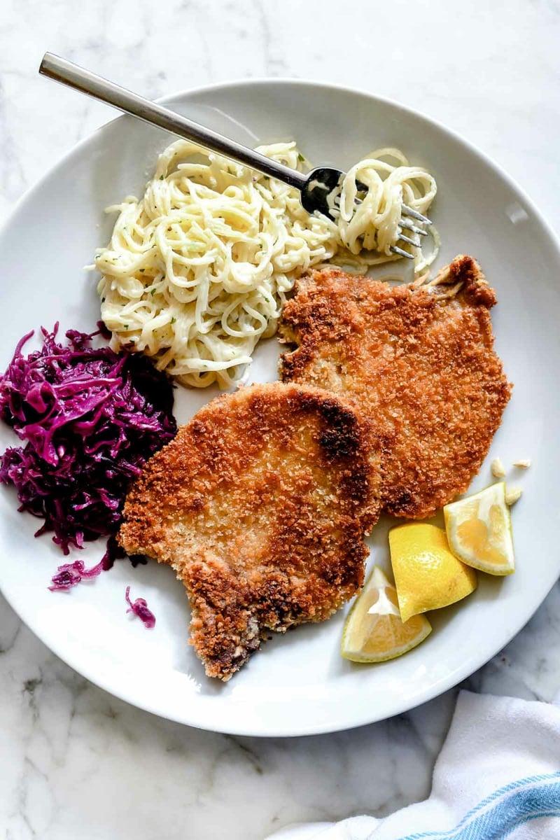 Heißluftfritteuse Rezepte Schnitzel