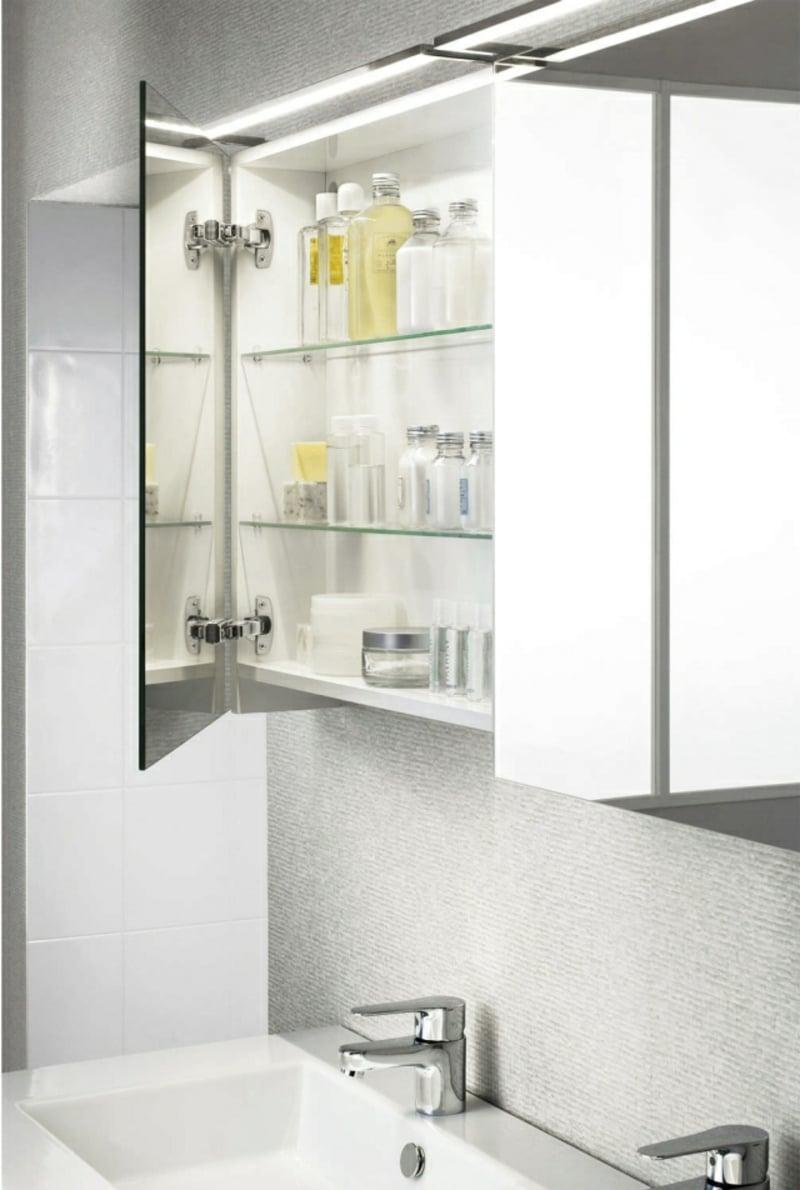 tolle Designideen Badezimmer Spiegelschrank