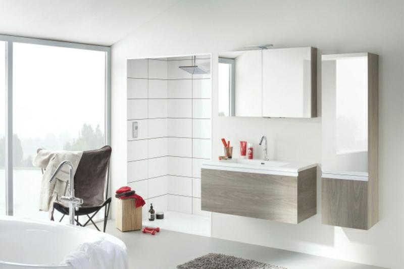 Badmöbel modern Spiegelschränke