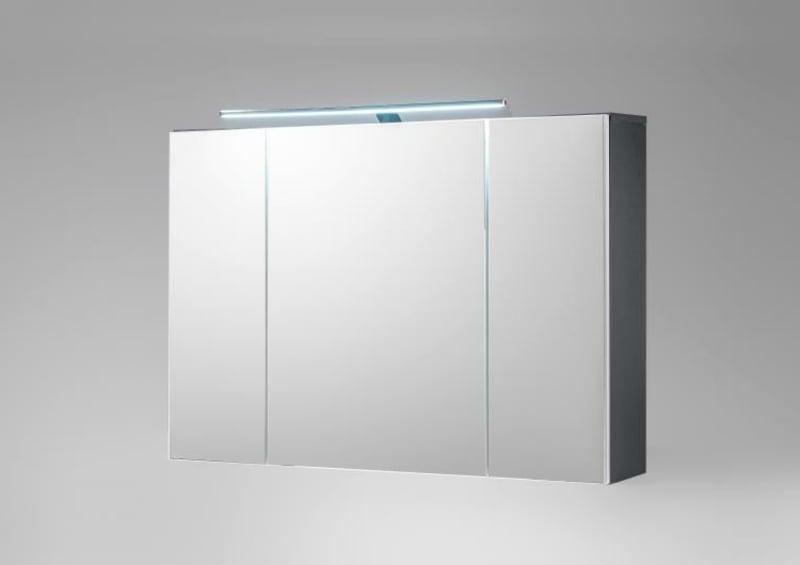 Badezimmer Spiegelschrank minimalistisches Design