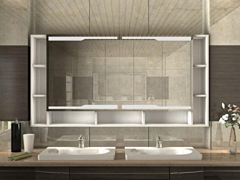 Badezimmer Spiegelschrank super modern