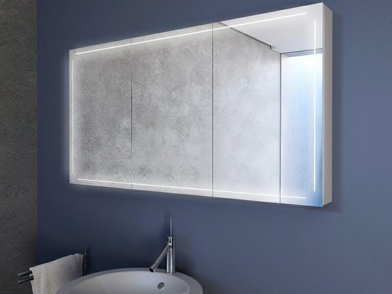 Badezimmer Spiegelschrank stilvolles Design
