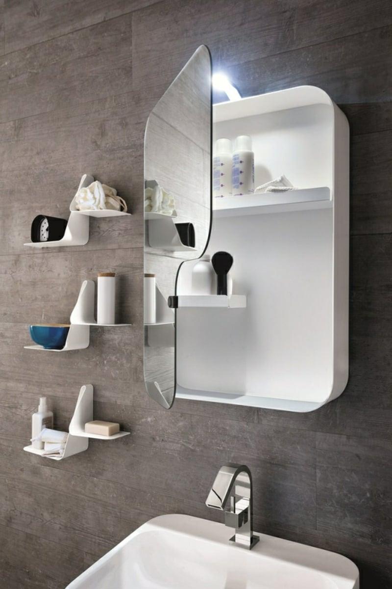 Badezimmer Spiegelschrank modern