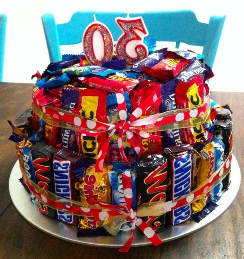 Geburtstagstorte dreißigsten Geburtstag