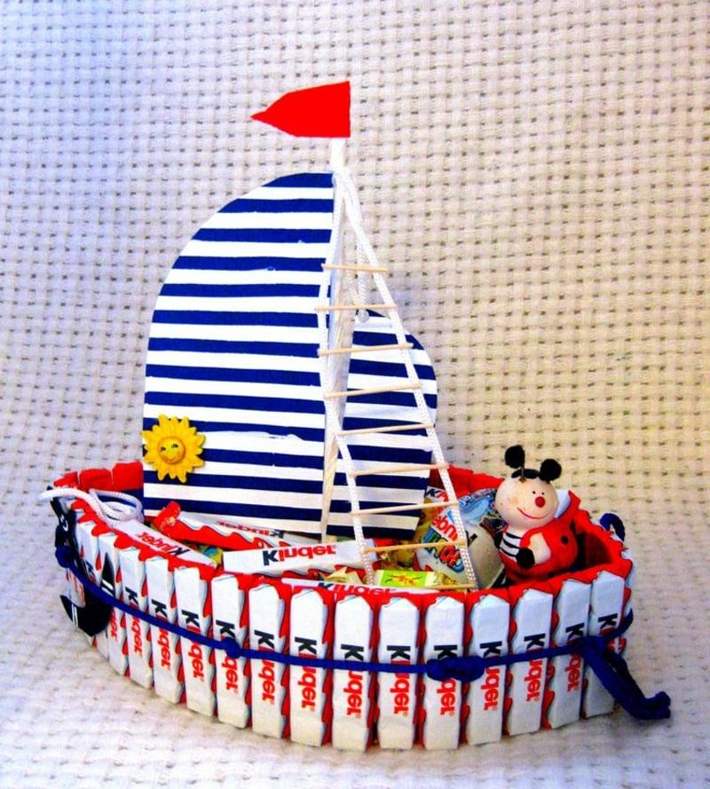Geburtstagstorte Schiff Kinderparty