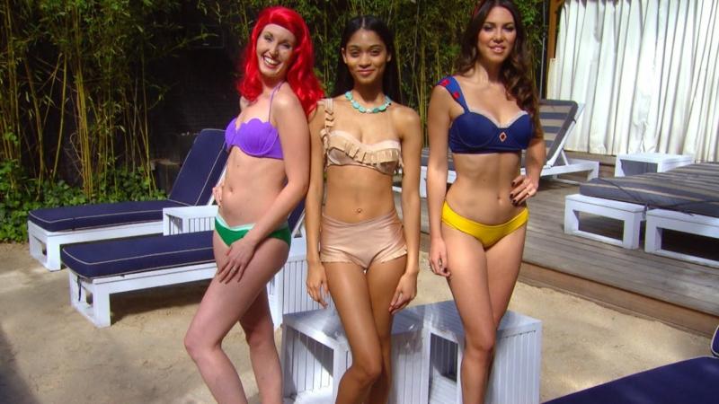 Bademode für Damen Disney-Bikinis