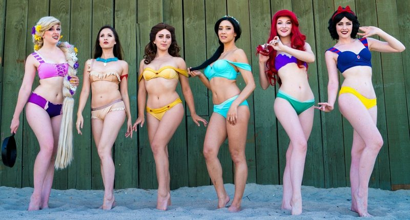 Enchanted Bikinis Bademode Princessinnen