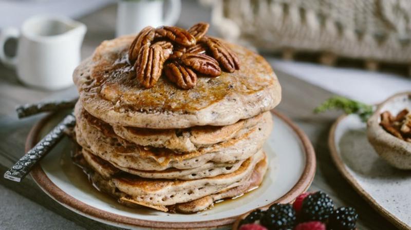 American Pancakes Rezept mit Erdnüssen