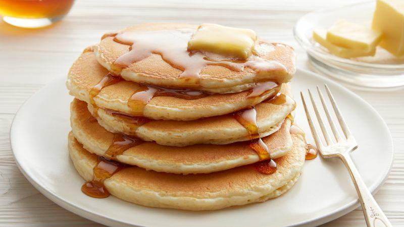 weiche Pancakes nach amerikanischer Art