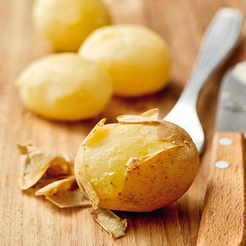 Kartoffeln pellen Rezept Salat