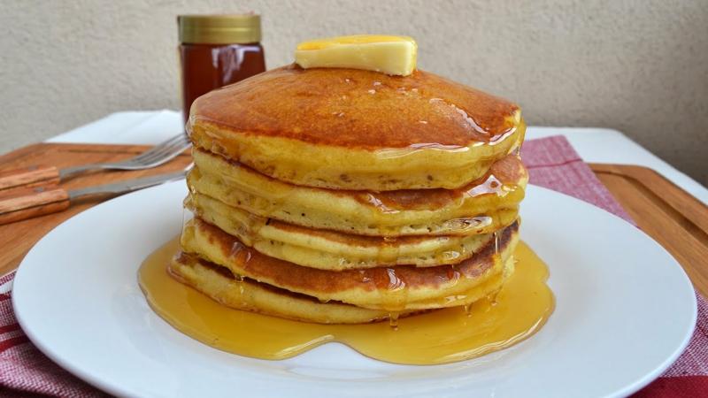 Pfannkuchen nach amerikanischer Art