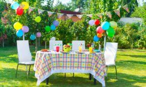 Partydeko mit Ballonen für eine tolle Stimmung!