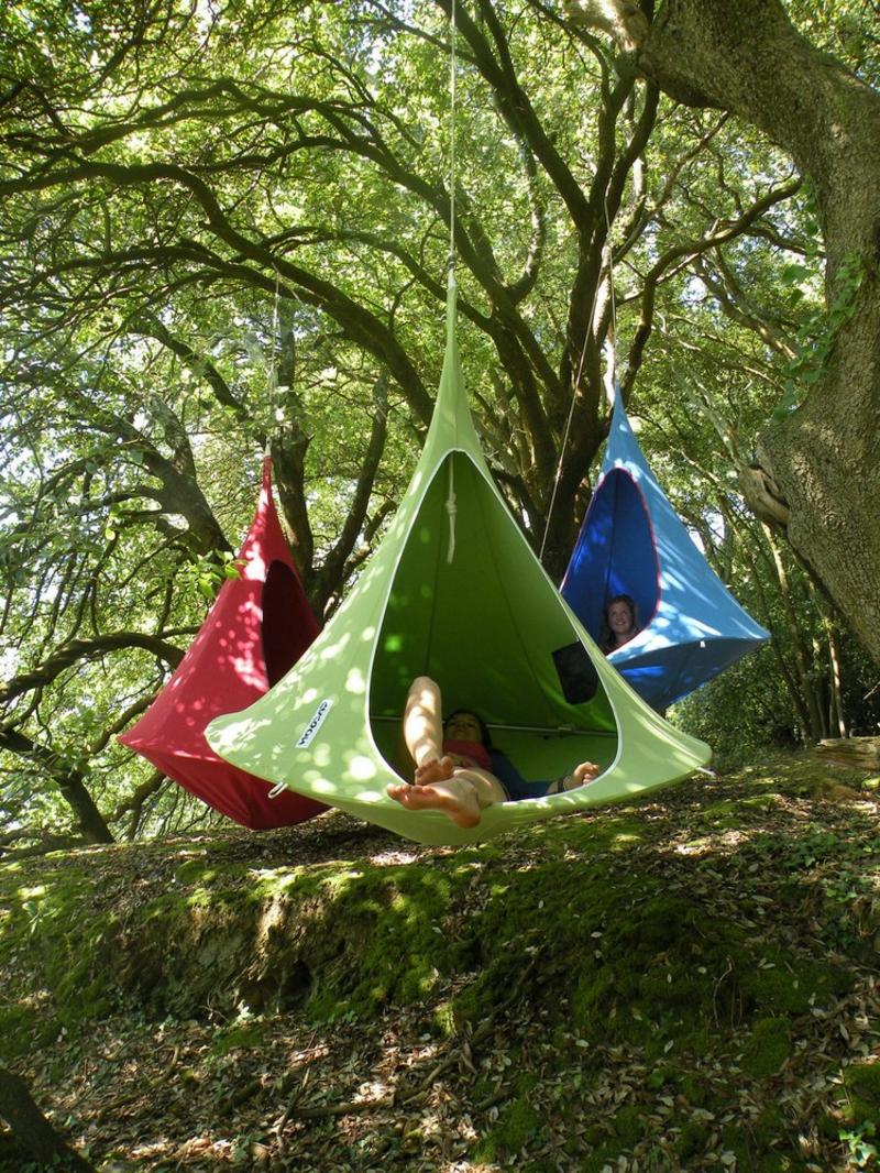 Gartenschaukel originell Zelt