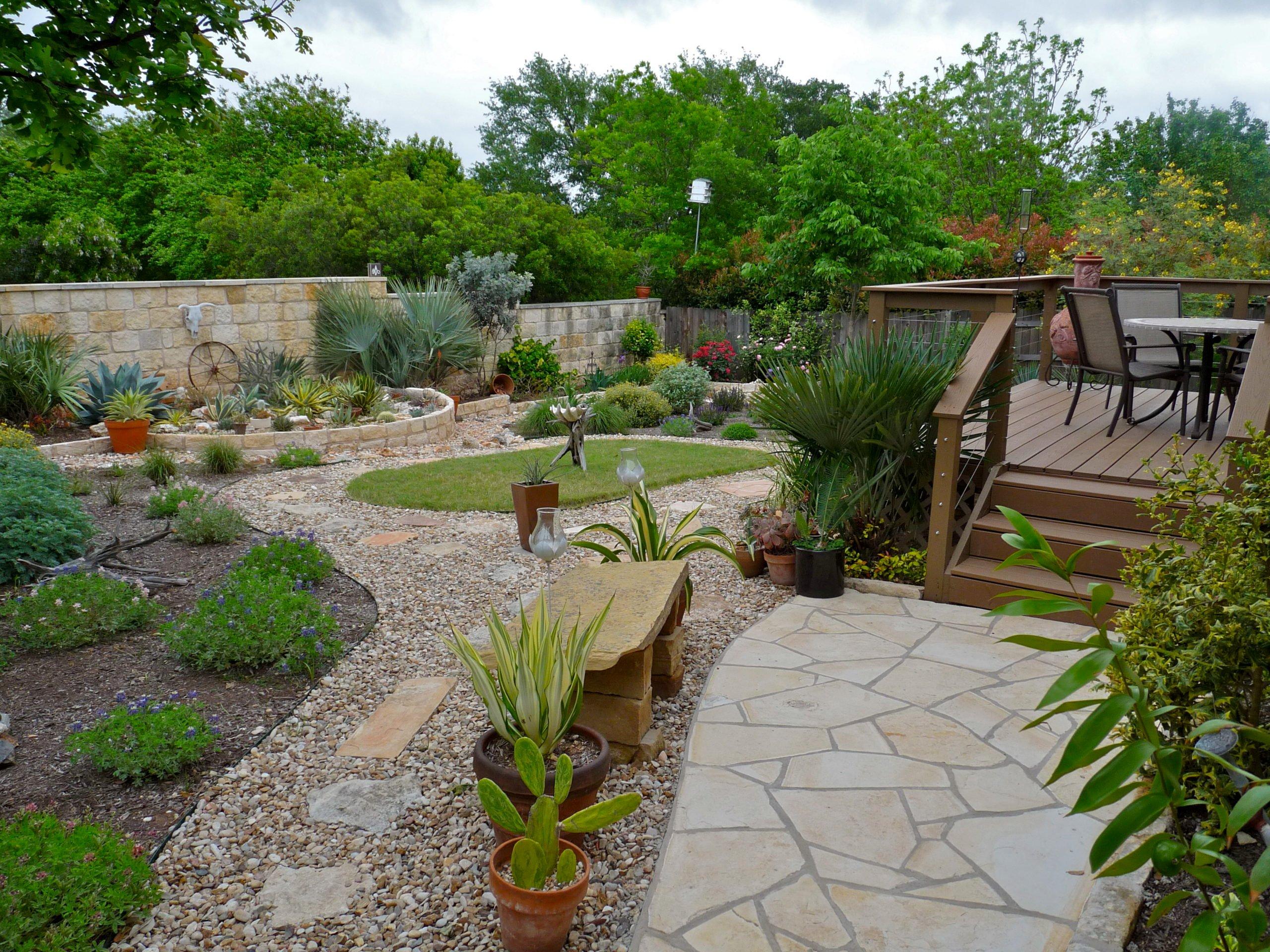 Garten gestalten Hinweise: Je grüner, desto besser!