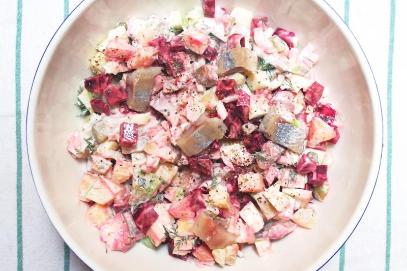 Heringssalat selber zubereiten