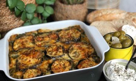 vegetarische Lasagne mit Gemüse Aubergine