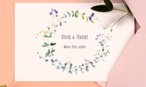 Save-the-Date-Karte for your wedding