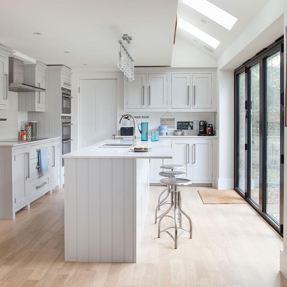 Bodenbelag für Ihre Küche: Idee für Laminatböden