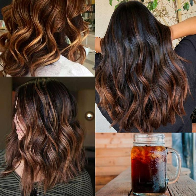 Haarfarbe Kaffee Tendenz 2020