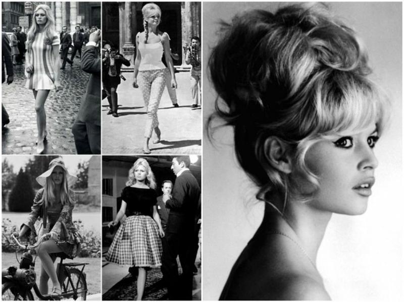 Retro Frisuren romantisch Brigitte Bardot