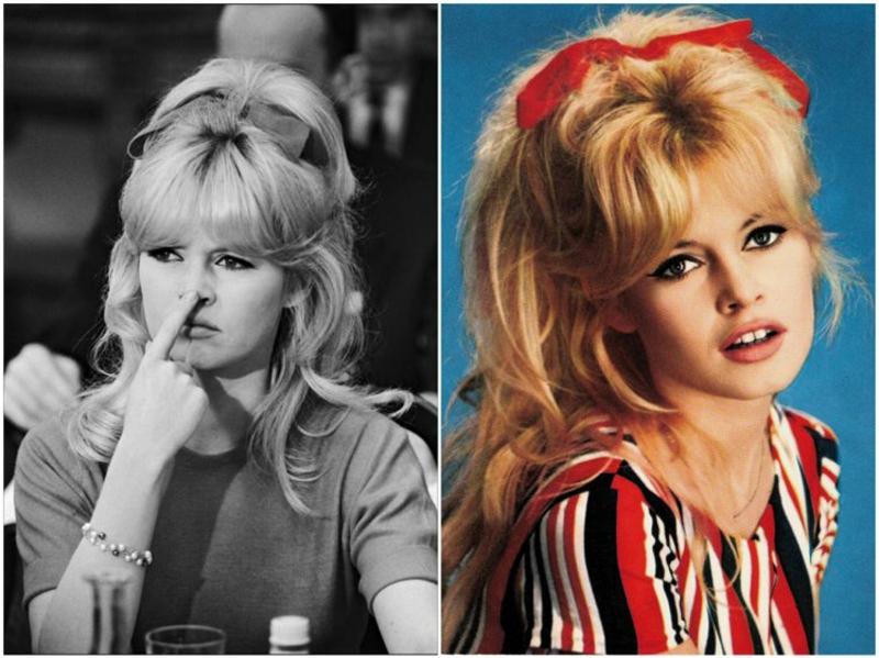 prachtvolle Frisur Brigitte Bardot