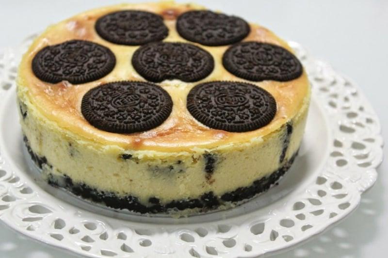 Oreo Cheesecake backen