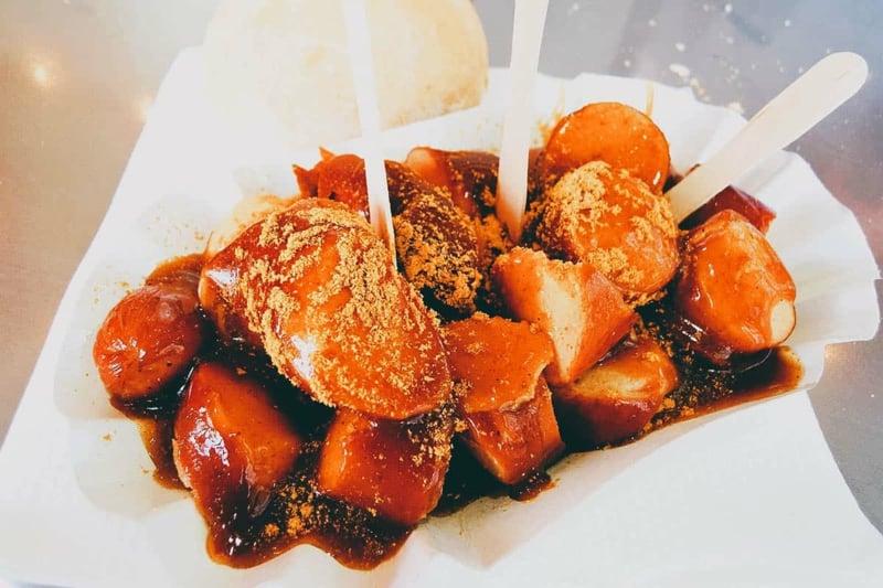 Currywurst Ketchup leckeres Rezept