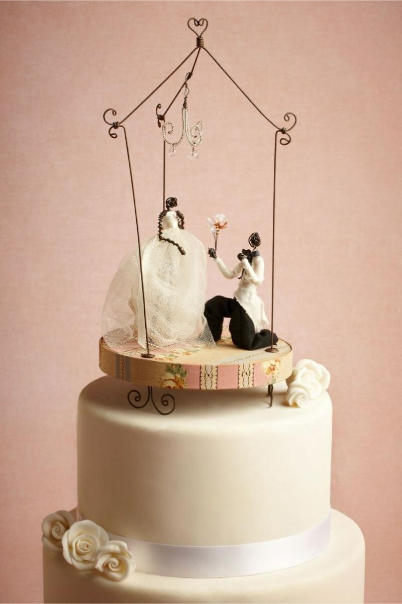 Torte Hochzeit originelle Deko