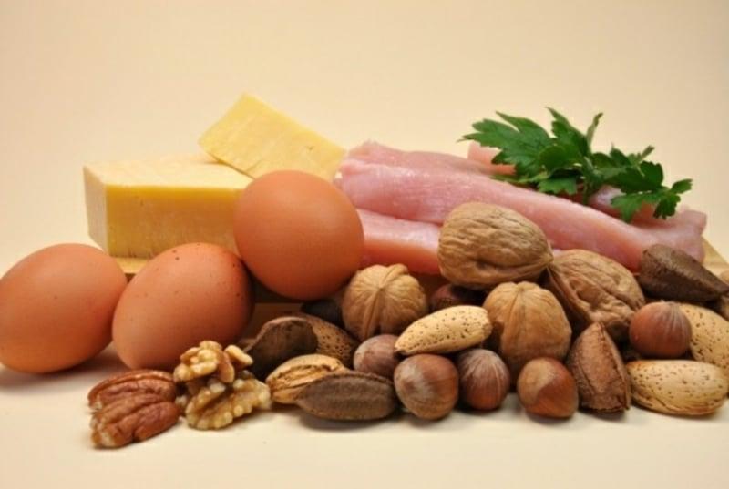 low carb Ernährung nur Proteine essen