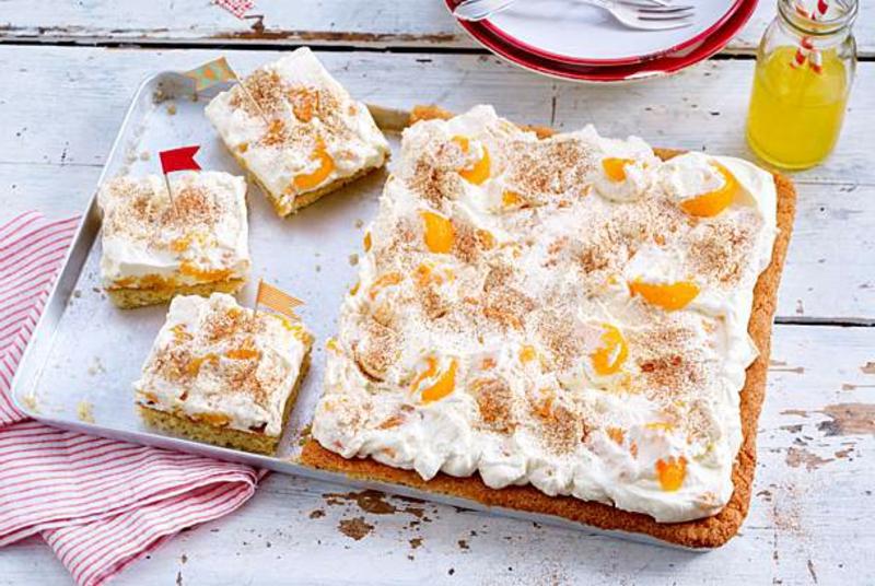 Kuchen vom Blech leckere Rezeptideen