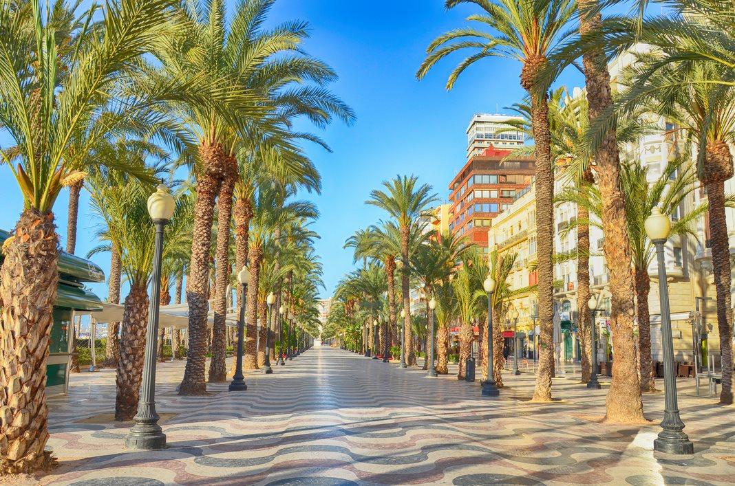 Ferien in Gran Canaria und Alicante: Stadt Zentrum