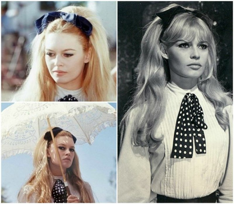 moderne Frisuren Pony Brigitte Bardot