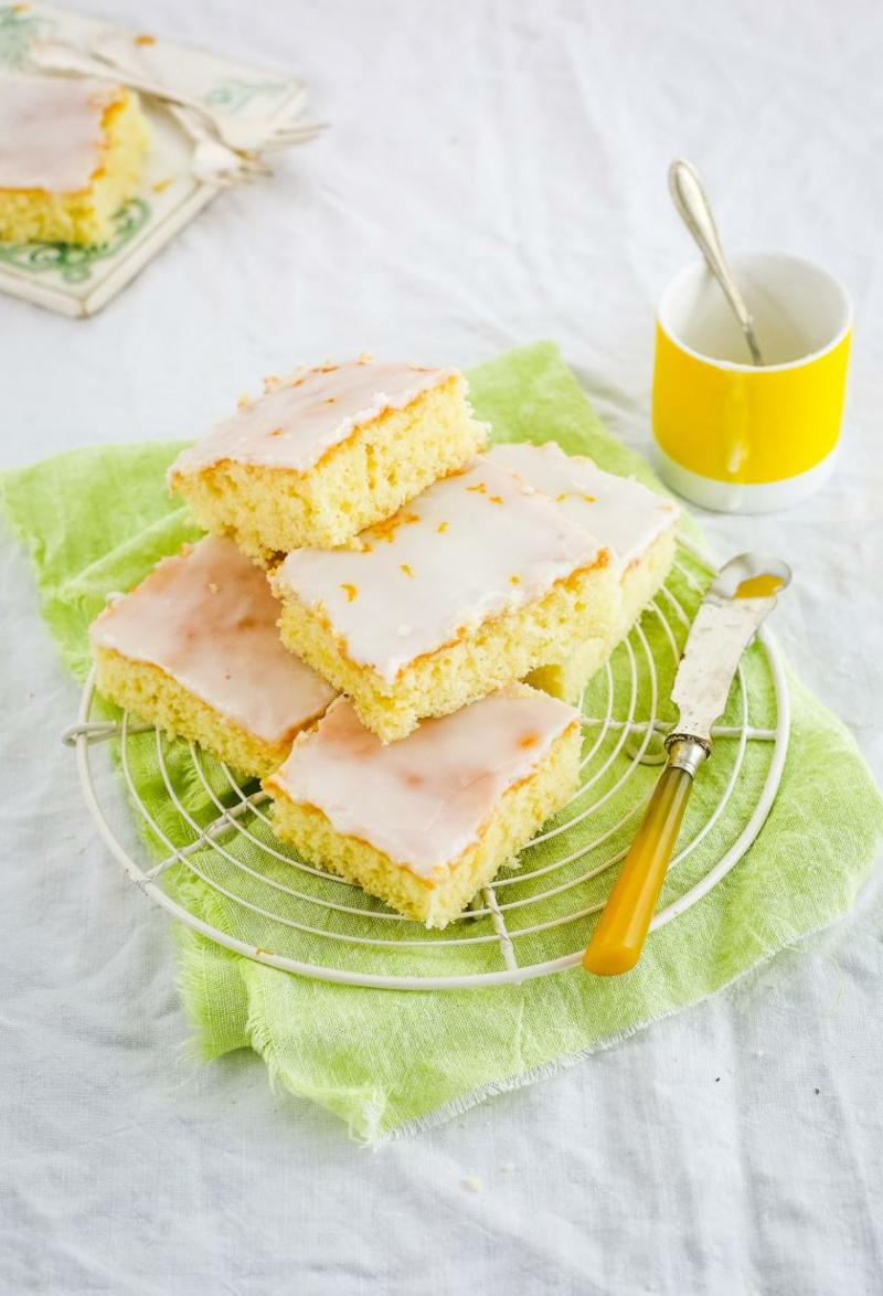 Kuchen mit Fanta vom Blech leichtes Rezept