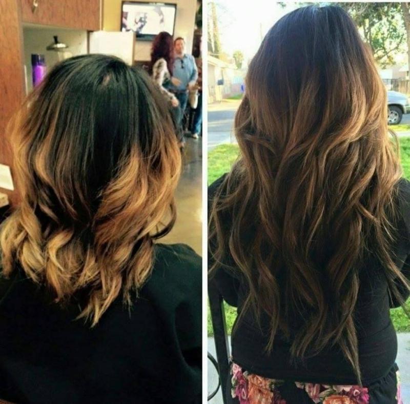 Haare verlängern Möglichkeiten
