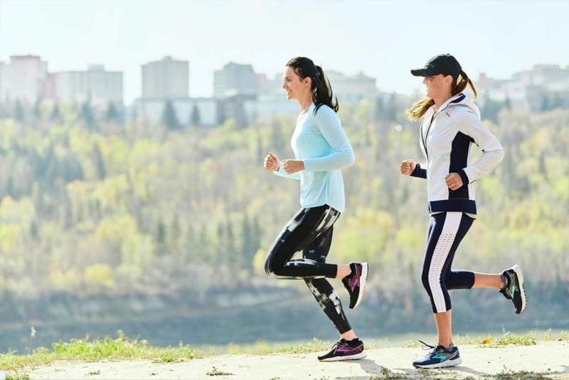 Dukan Diät mehr Bewegung Joggen