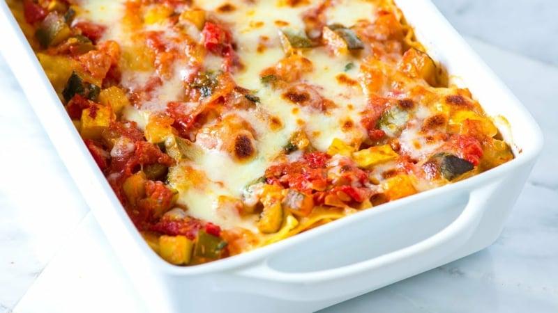 Lasagne zubereiten ohne Fleisch