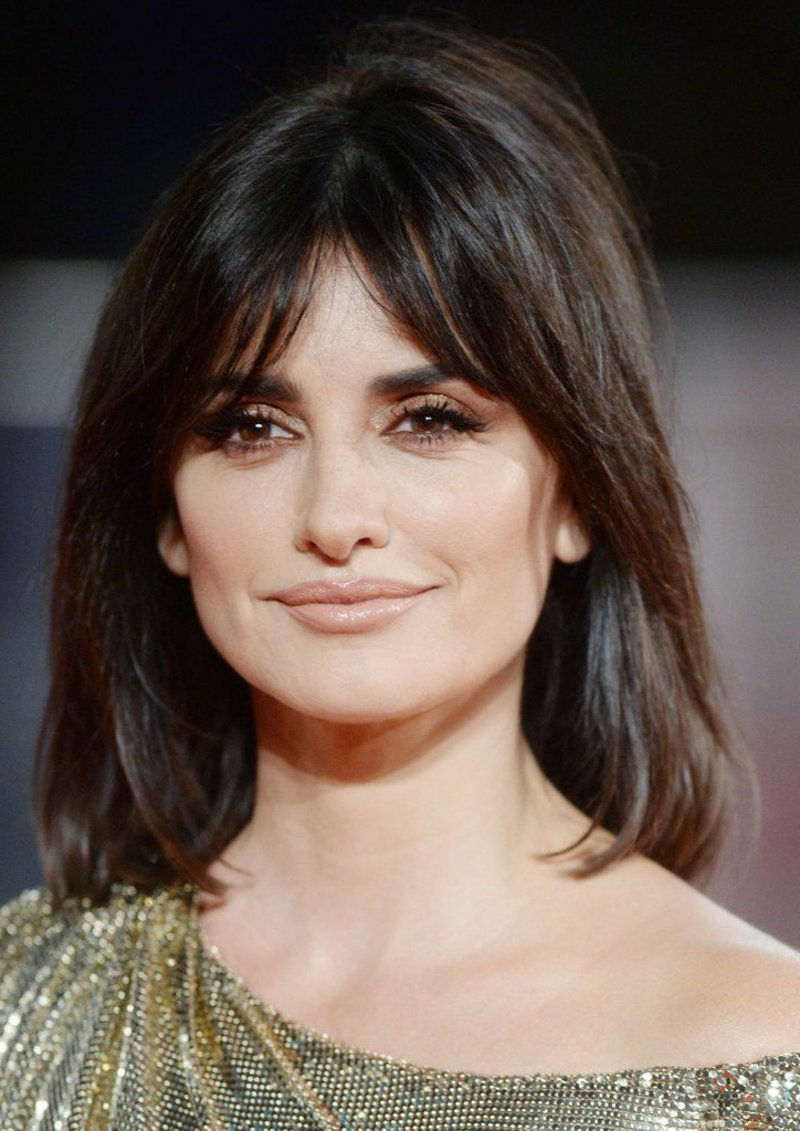Curtain Bangs Penelope Cruz
