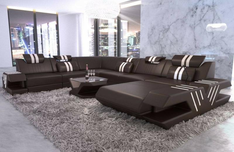 Wohnzimmersofa XXL modernes Design
