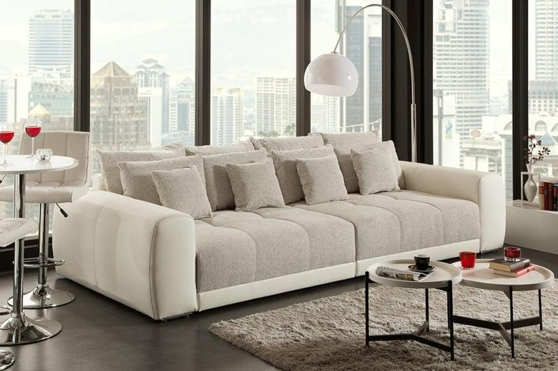 XXL Sofa stilvolles Design Wohnzimmer