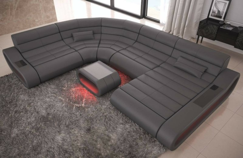 XXL Sofa minimalistisches Design