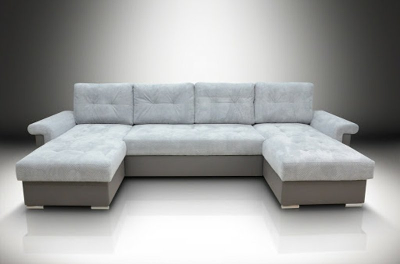 XXL Sofa Polsterung Cremeweiß