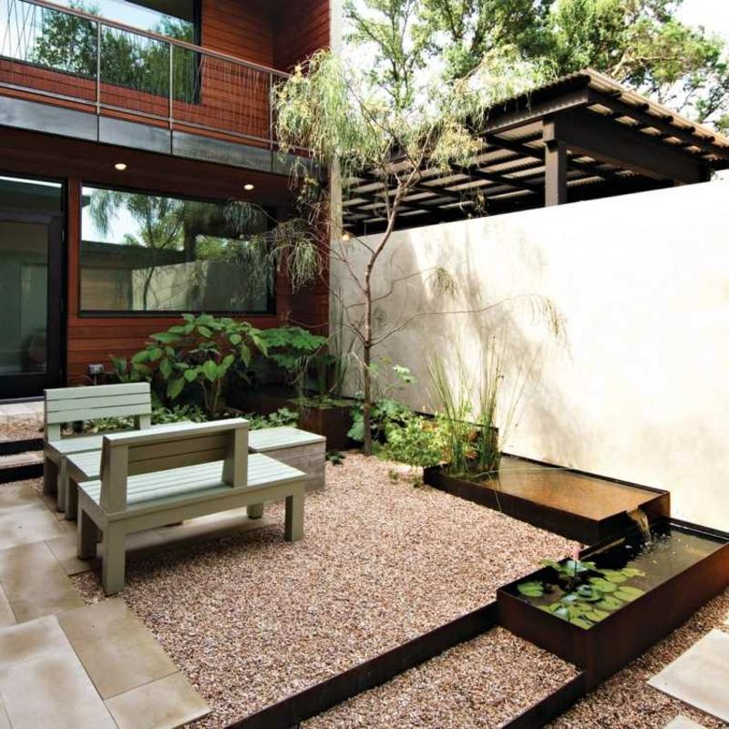 Zen Garten Pflanzenarten Akazie