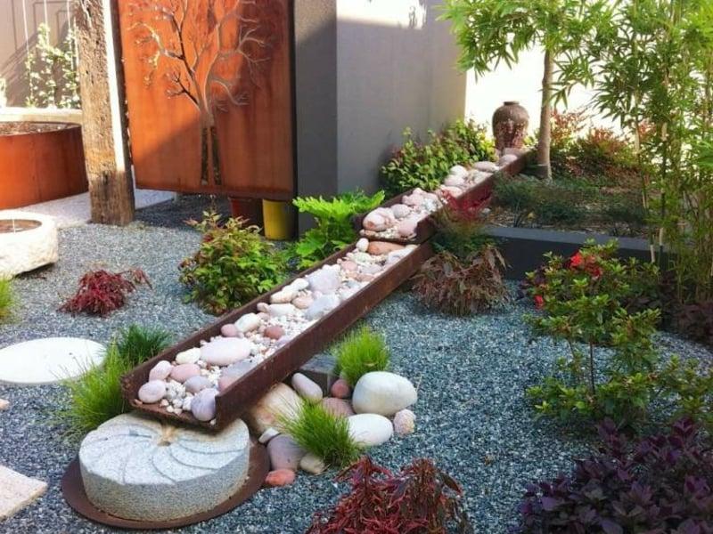 Steingarten gestalten tolle Ideen
