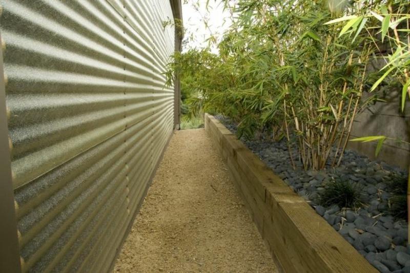 Gartengestaltung Ideen Zaun
