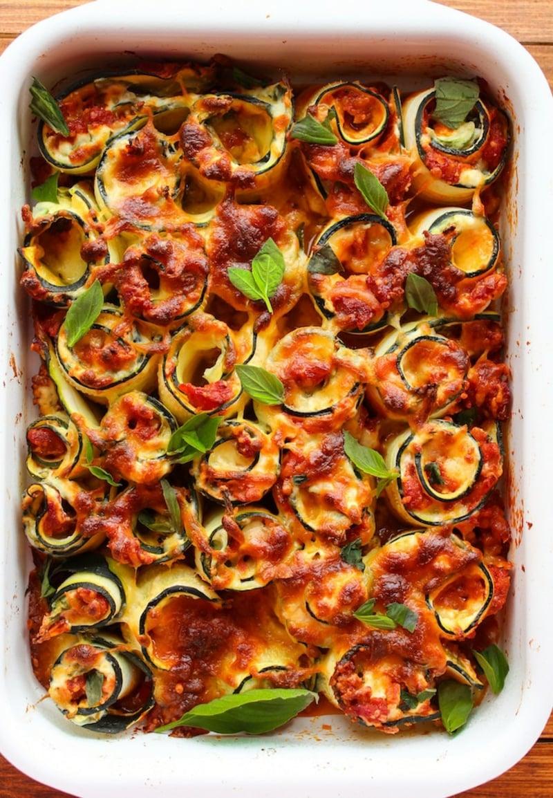vegetarische Lasagne Auflaufform