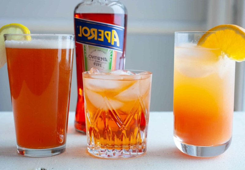 Aperol Spritz Rezept verschiedene Varianten