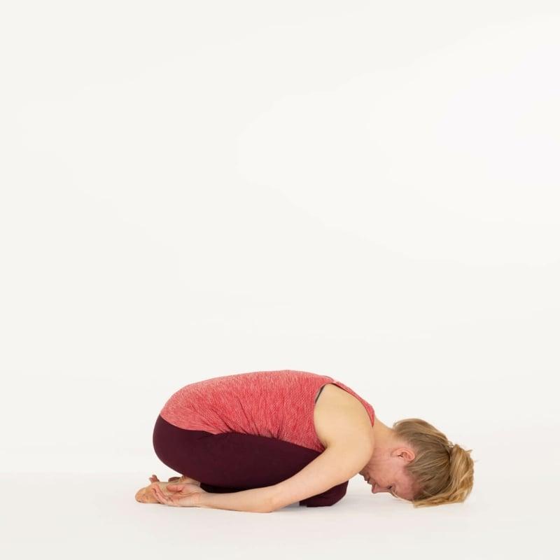 Yoga Übungen Balasana Pose