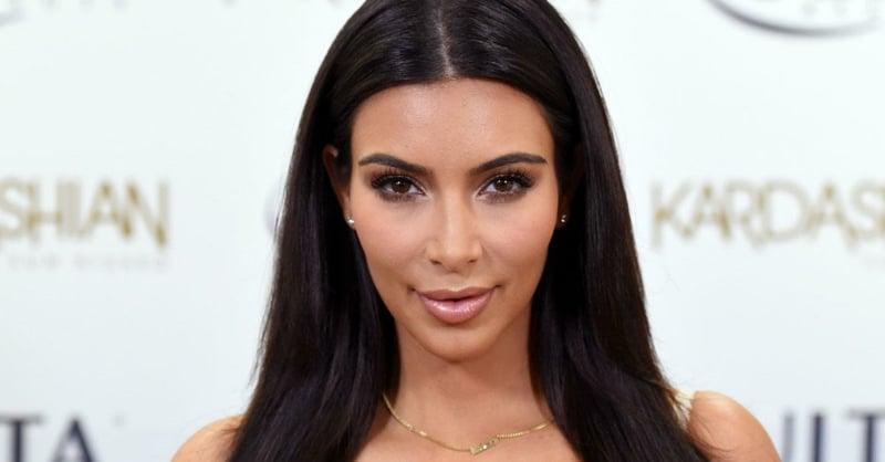 Tontouring Kim Kardashian herrlicher Look